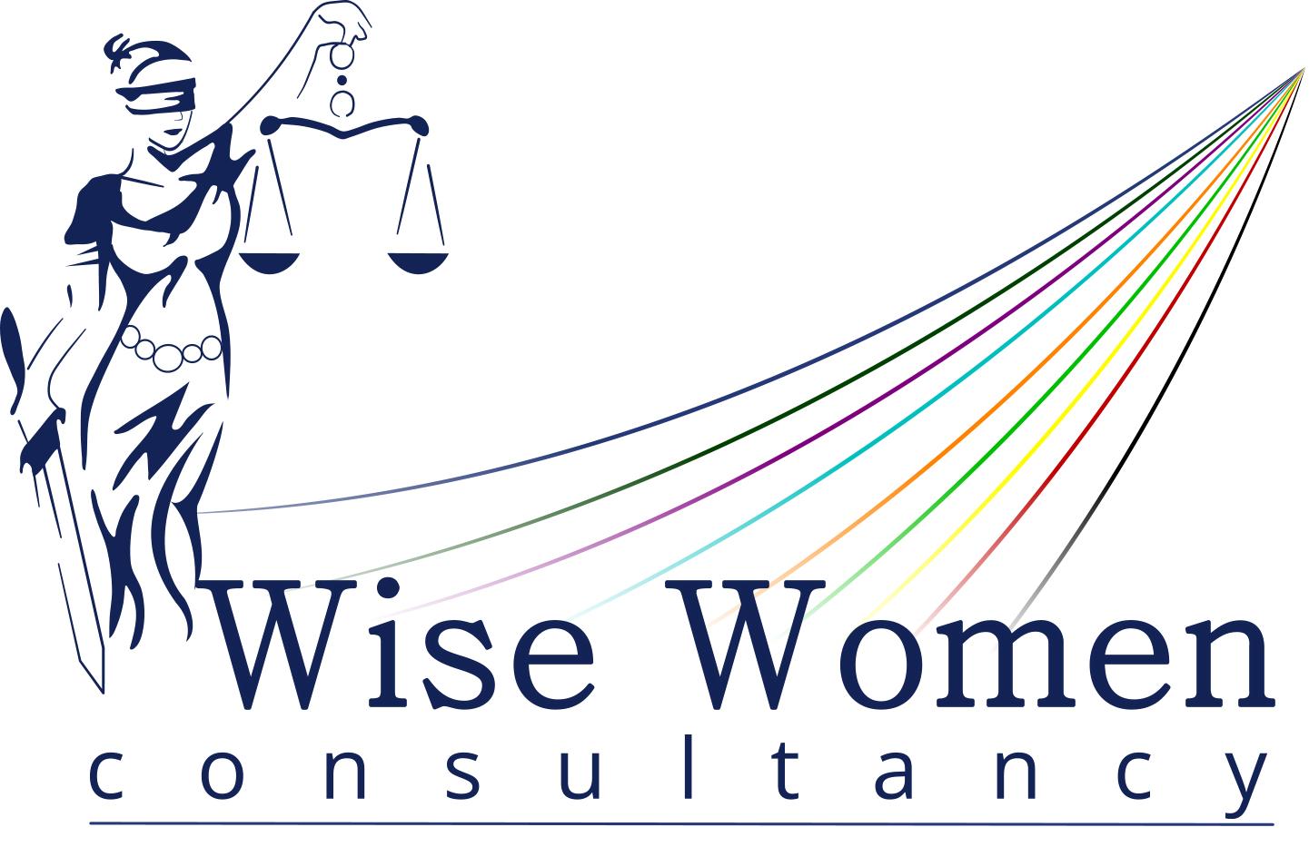 Bewerkt Logo wise women website